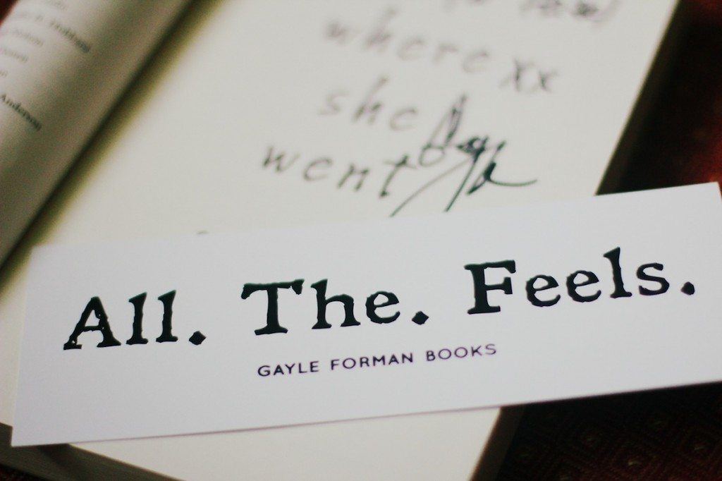 all the feels bookmark