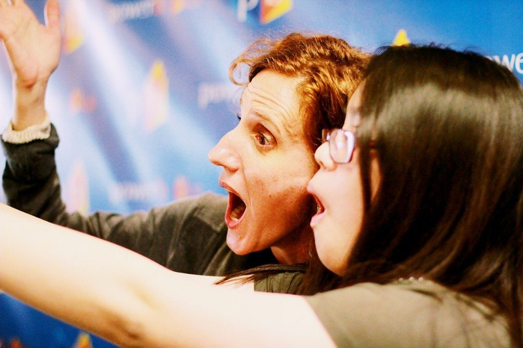 how to take a silly selfie