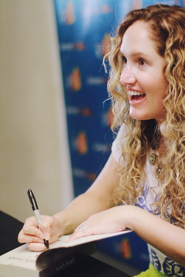 becca signing books