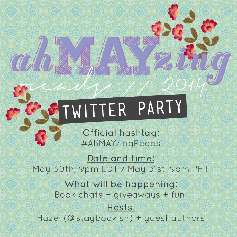 ahmayzingreads twitter party
