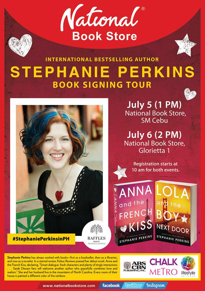 stephanie perkins national book store philippines