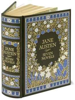 jane austen seven novels leatherbound classics