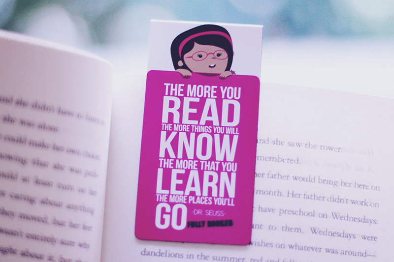 fullybooked bookmark