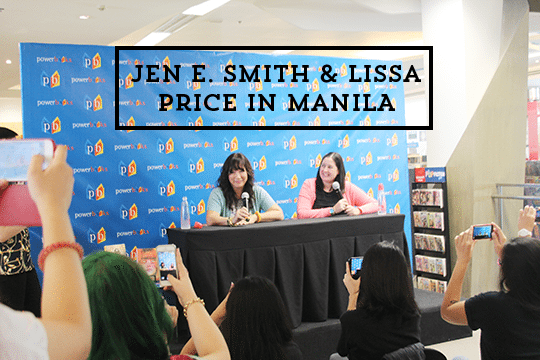 jennifer e smith lissa price manila book signing