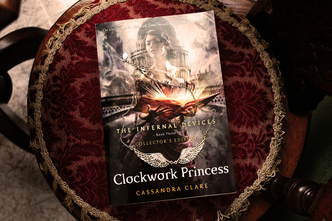 Novel Portrait - Clockwork Princess