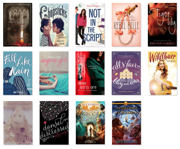october 2014 reads