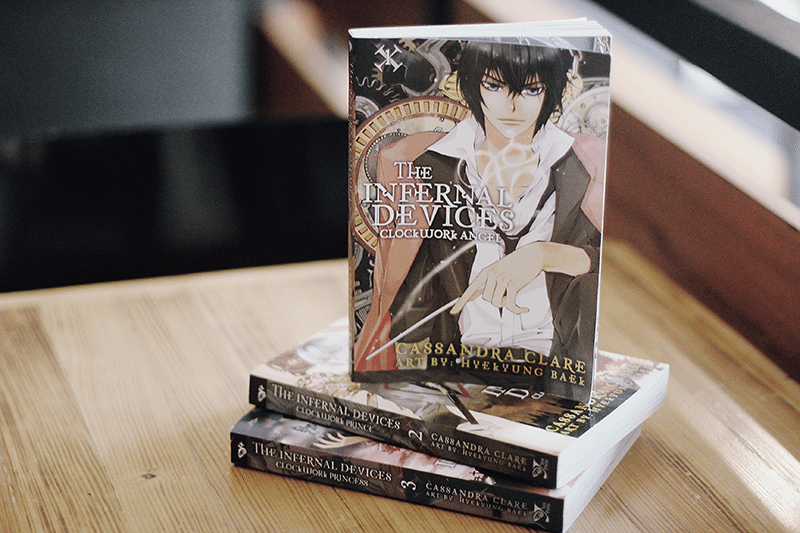 the infernal devices clockwork angel manga
