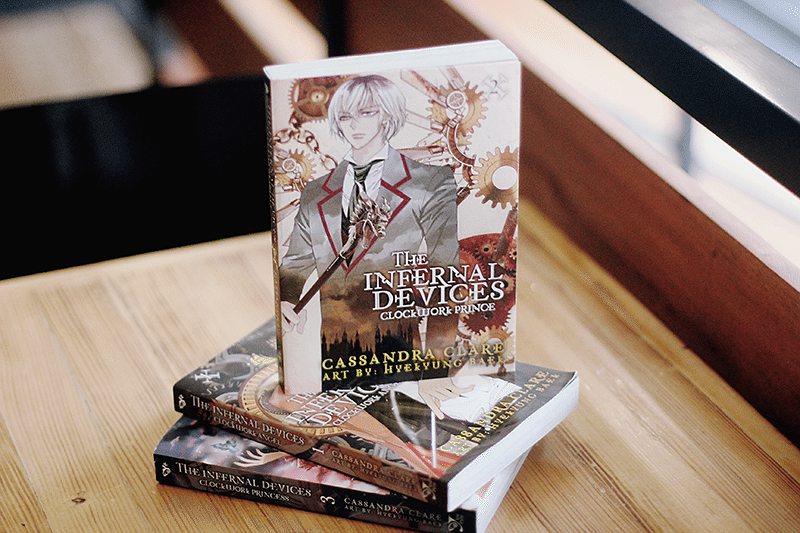 the infernal devices clockwork prince manga
