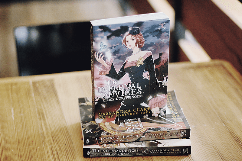 the infernal devices clockwork princess manga