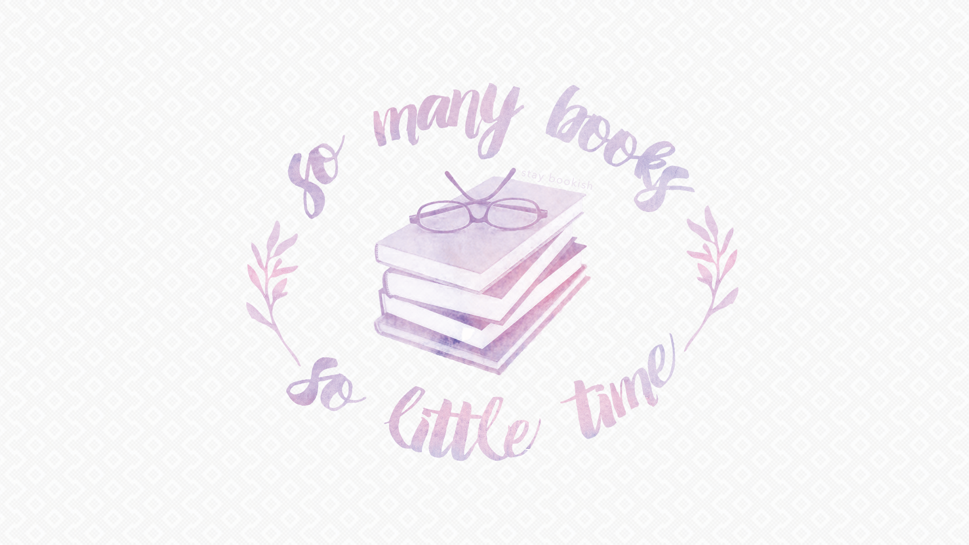 so many books so little time 1920x1080
