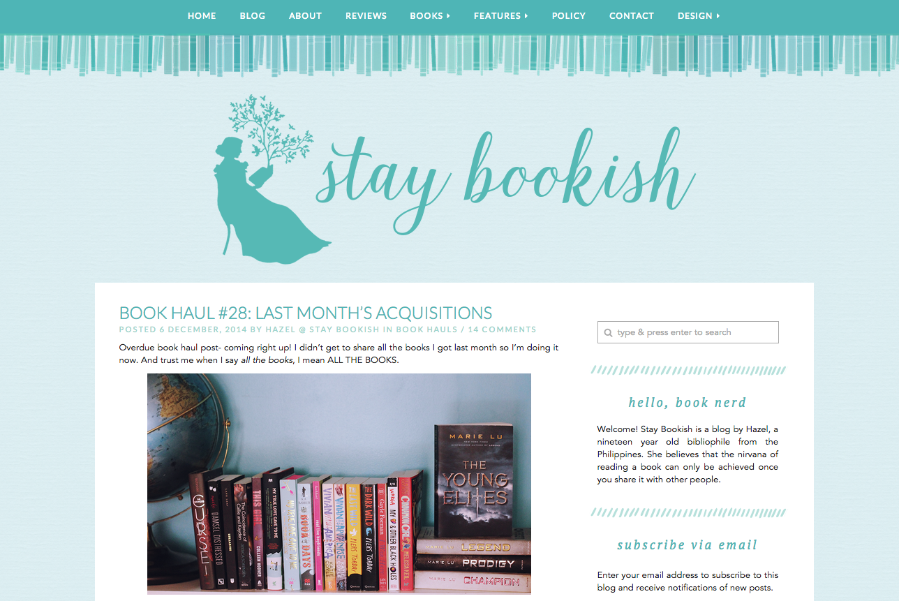 stay bookish v4 - blog
