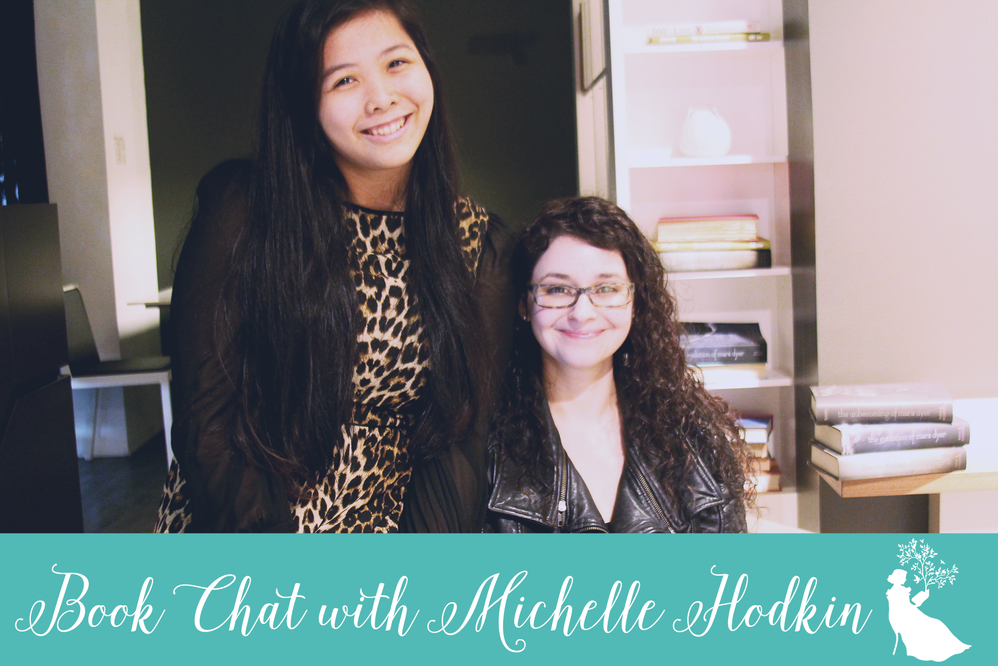 book chat with Michelle Hodkin