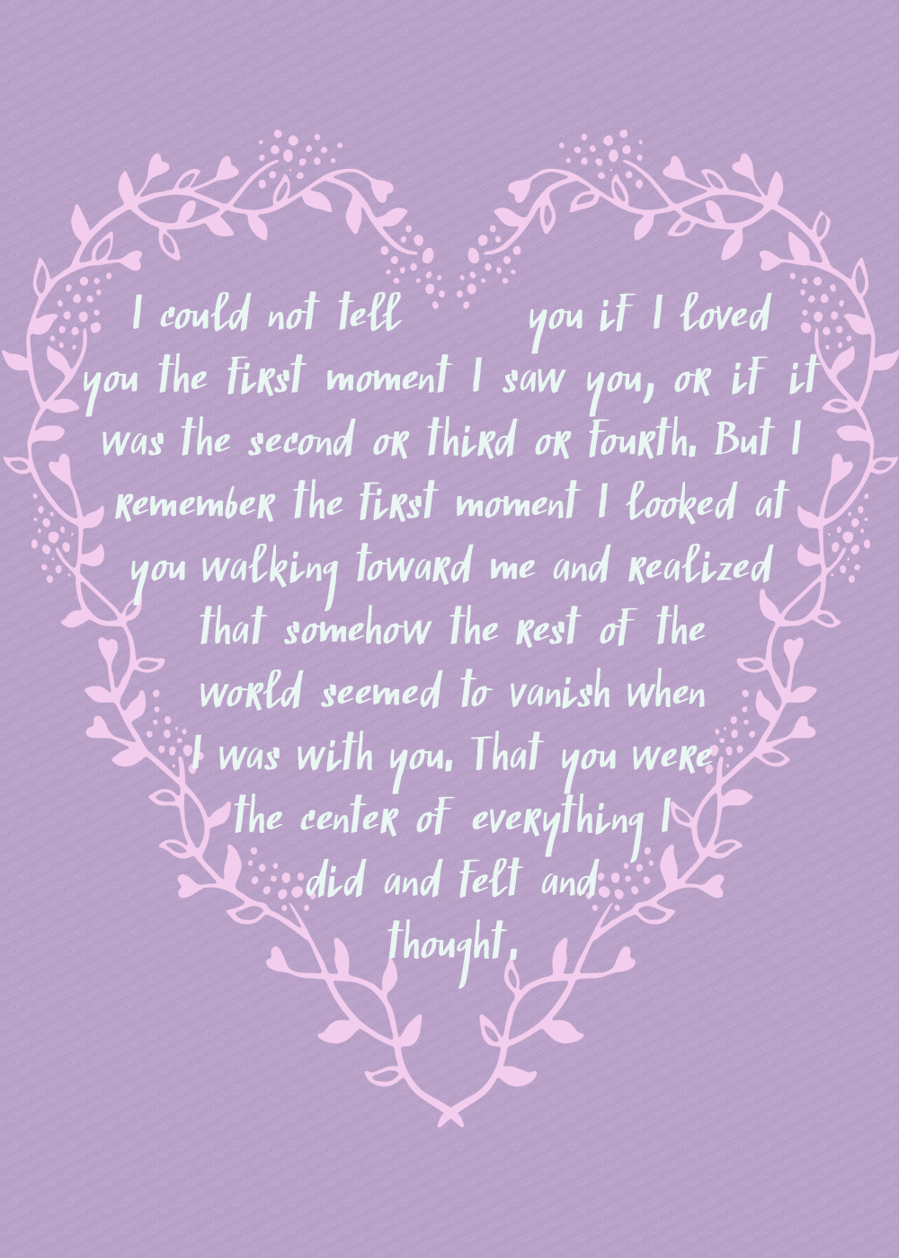 clockwork prince quote - i could not tell you if i loved you the first moment i saw you