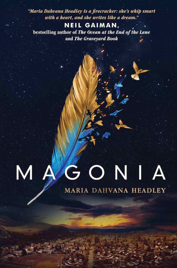 Magonia by Maria Dahvana Headley + Giveaway
