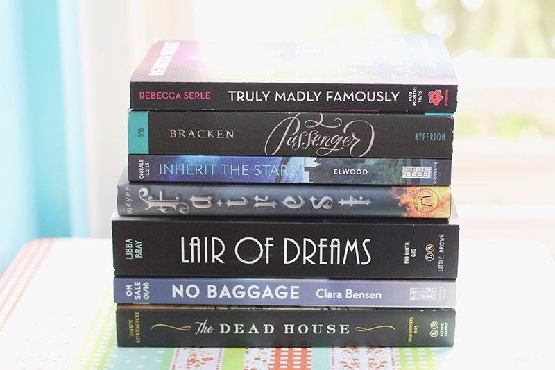bea 2015 book haul day 2 - 1