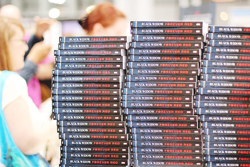black widow book expo america 2015