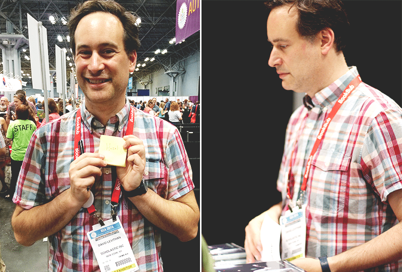 david levithan book expo america 2015
