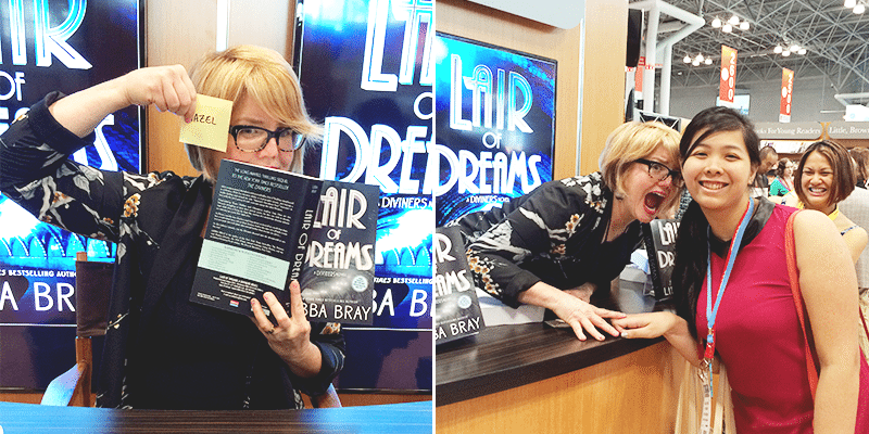 lair of dreams signing libba bray book expo america 2015