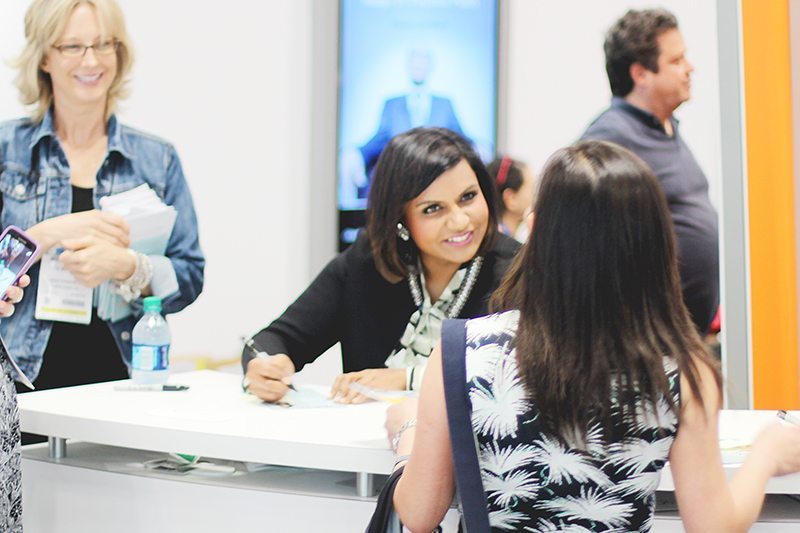 mindy kaling book expo america 2015