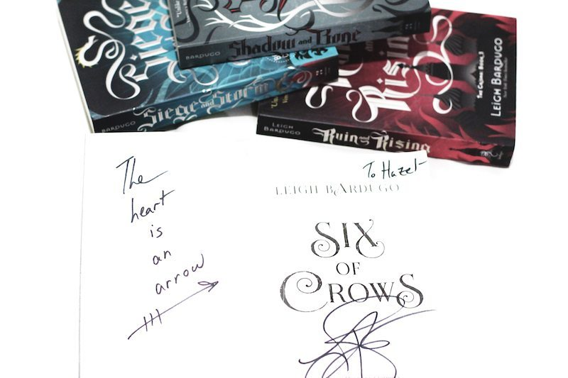 six of crows signed books leigh bardugo manila signing