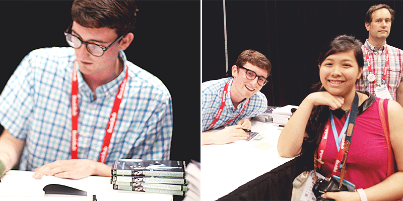 will walton signing anything could happen BEA 2015