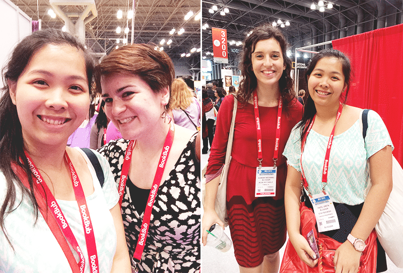 with book bloggers bookexpo america
