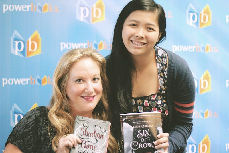 with leigh bardugo manila signing
