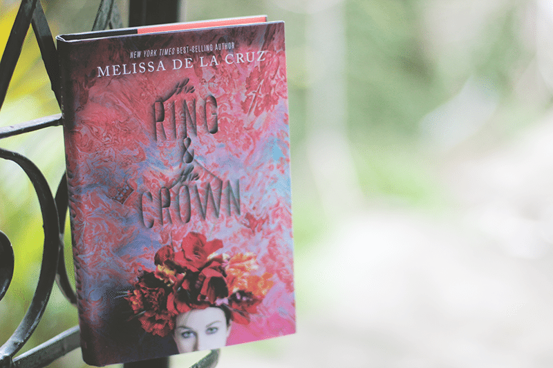 find me tag - the ring and the crown by melissa de la cruz