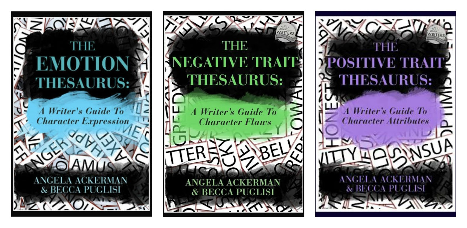 emotion negative positive trait thesaurus angela ackerman