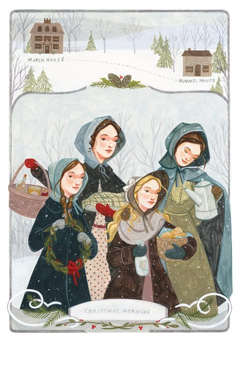 little women folio society edition illustration