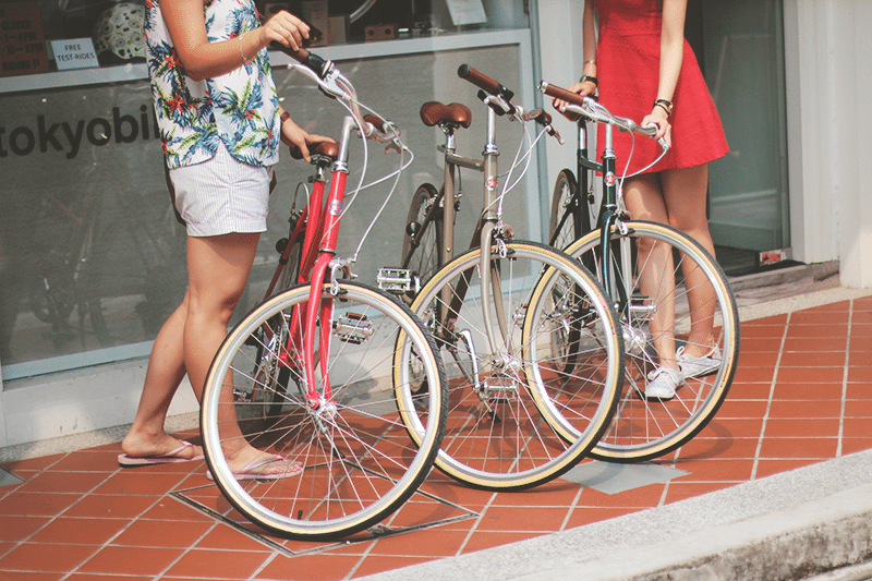 haji lane bicycles