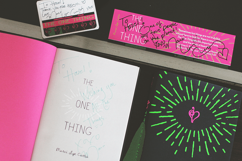 the one thing book mail