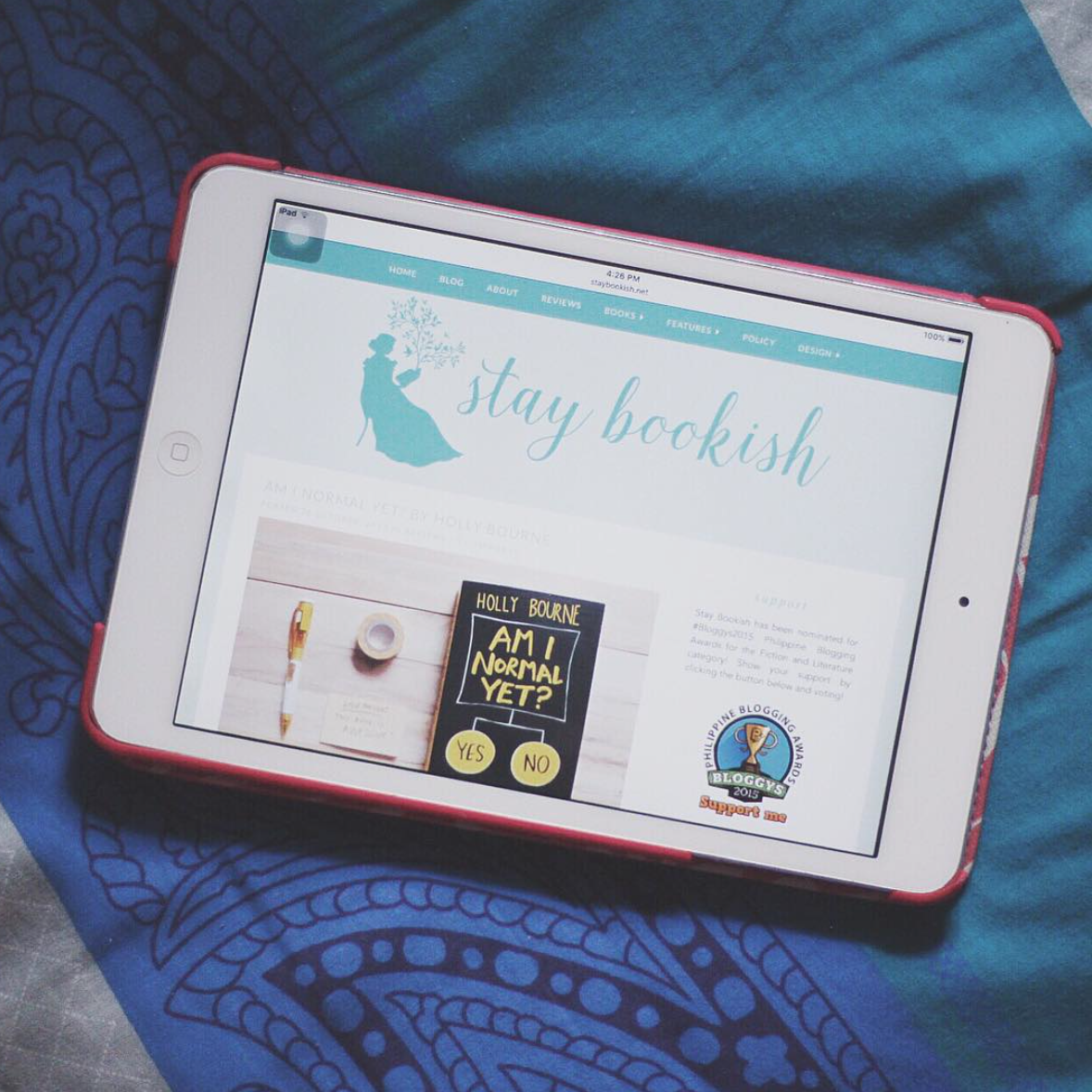 bloggys 2015 stay bookish