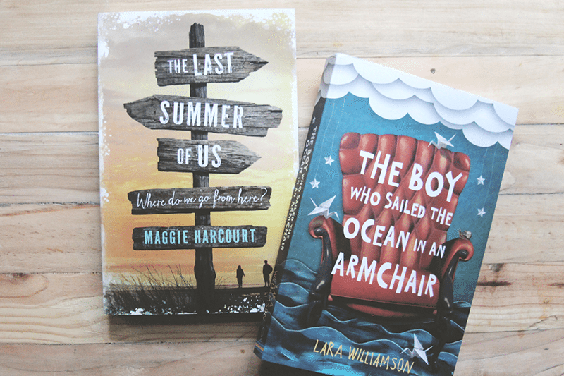 Usborne books - The Last Summer Of Us and The Boy Who Sailed The Ocean In An Armchair