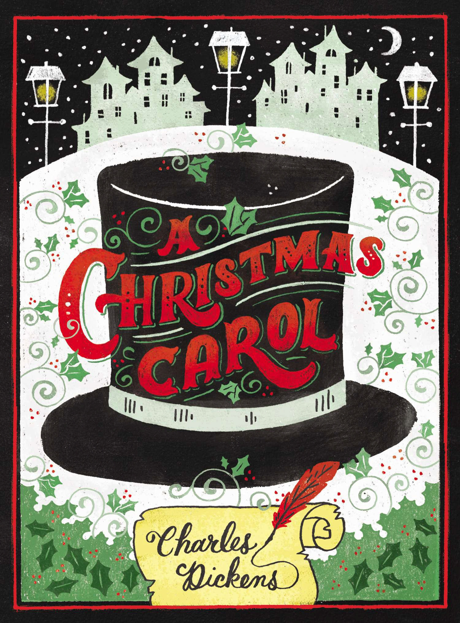 a christmas carol by charles dickens - puffin chalk