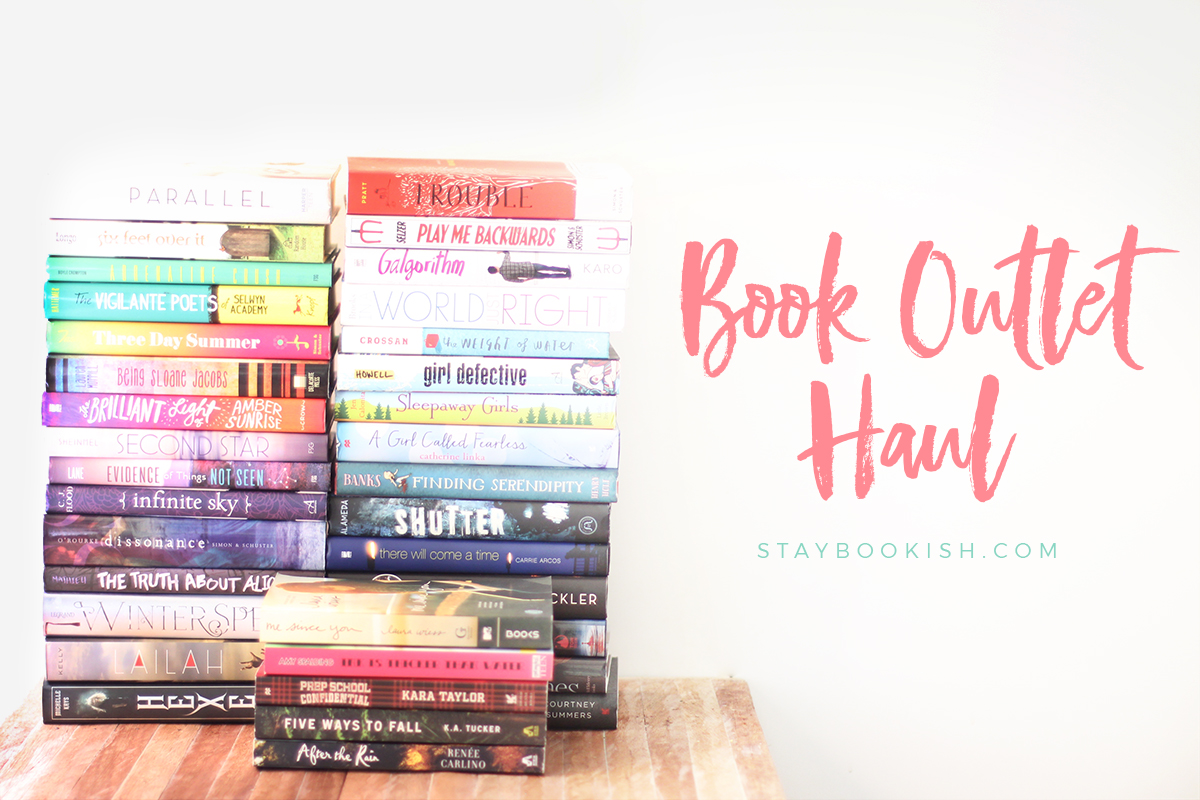 Book Outlet Haul 2016