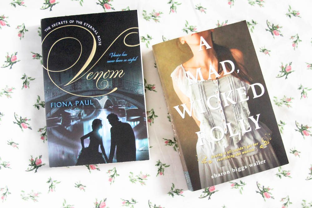 Fully Booked Book Sale 2016 - Venom A Mad Wicked Folly