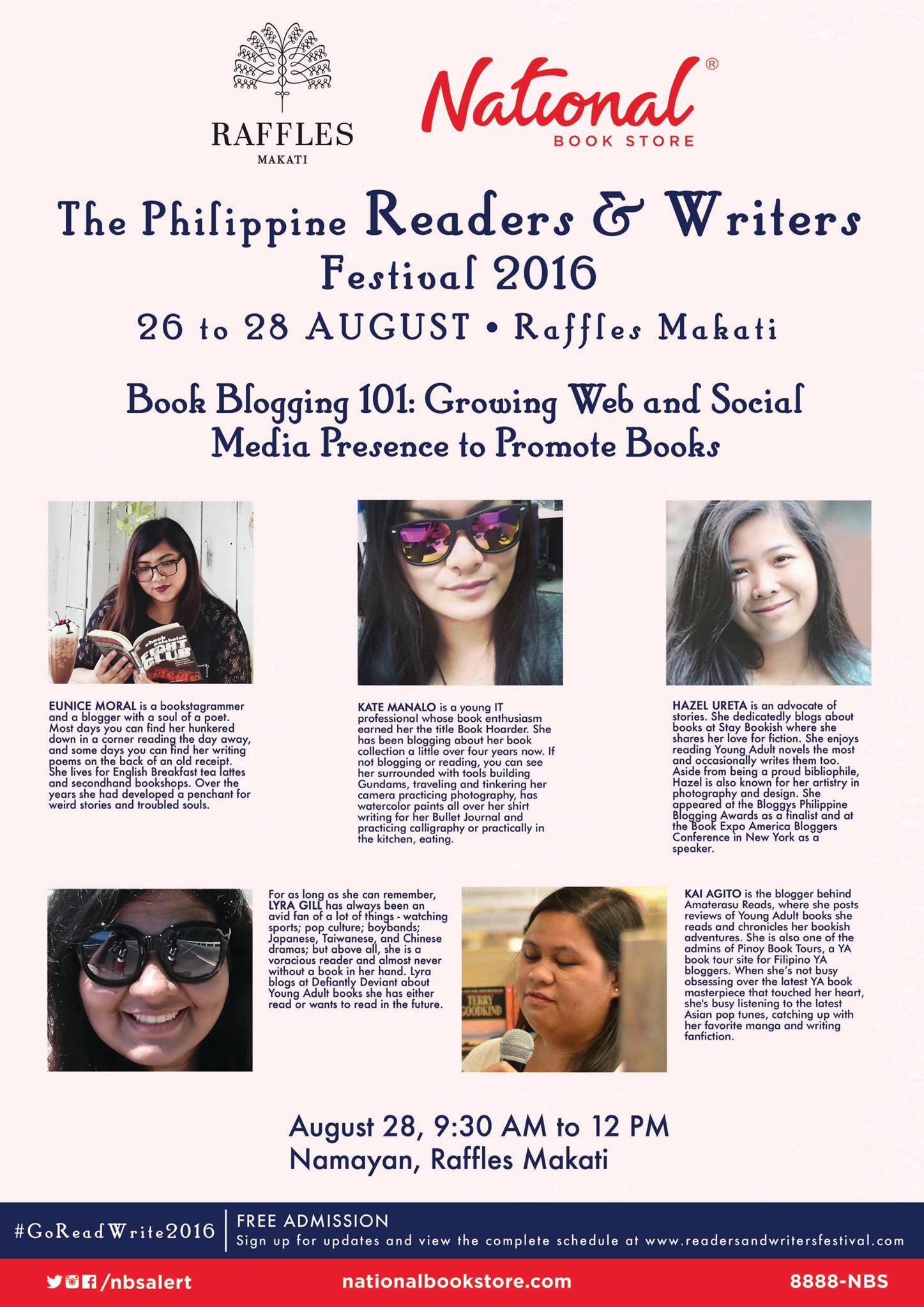 The Philippine Readers and Writers Festival - Book Blogging Panel