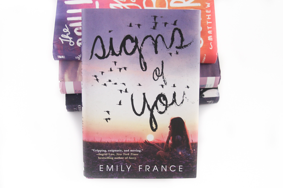 Thriller Thursday Book Review - Signs of You by Emily France