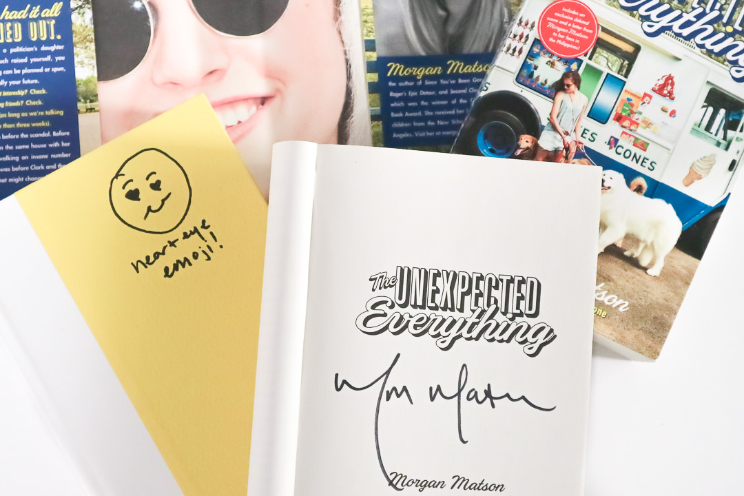 morgan-matson-signed-book-giveaway-the-unexpected-everything