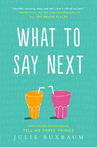 PH Blog Tour: What To Say Next