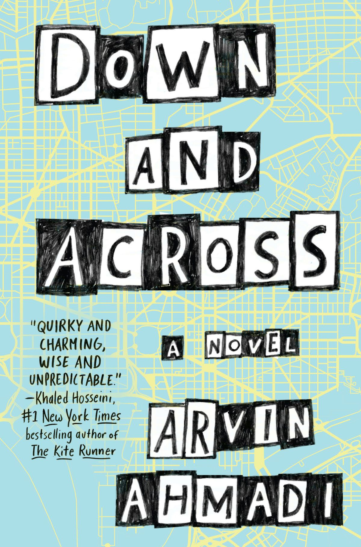 Down and Across by Arvin Ahmadi || Review Crossword & Quotes