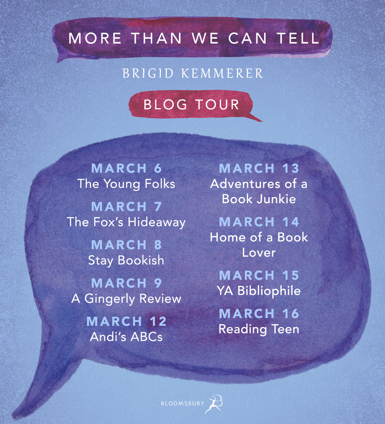MORE THAN WE CAN TELL blog tour