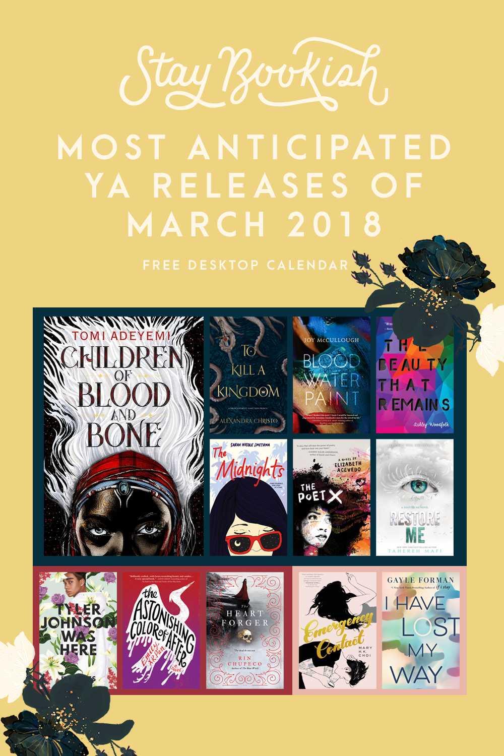 Our Most Anticipated YA Releases || March 2018