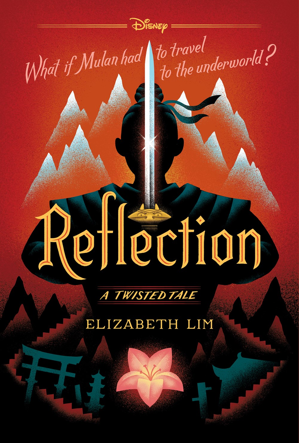 Reflection (Twisted Tales, #4) by Elizabeth Lim, Disney Storybook Art Team