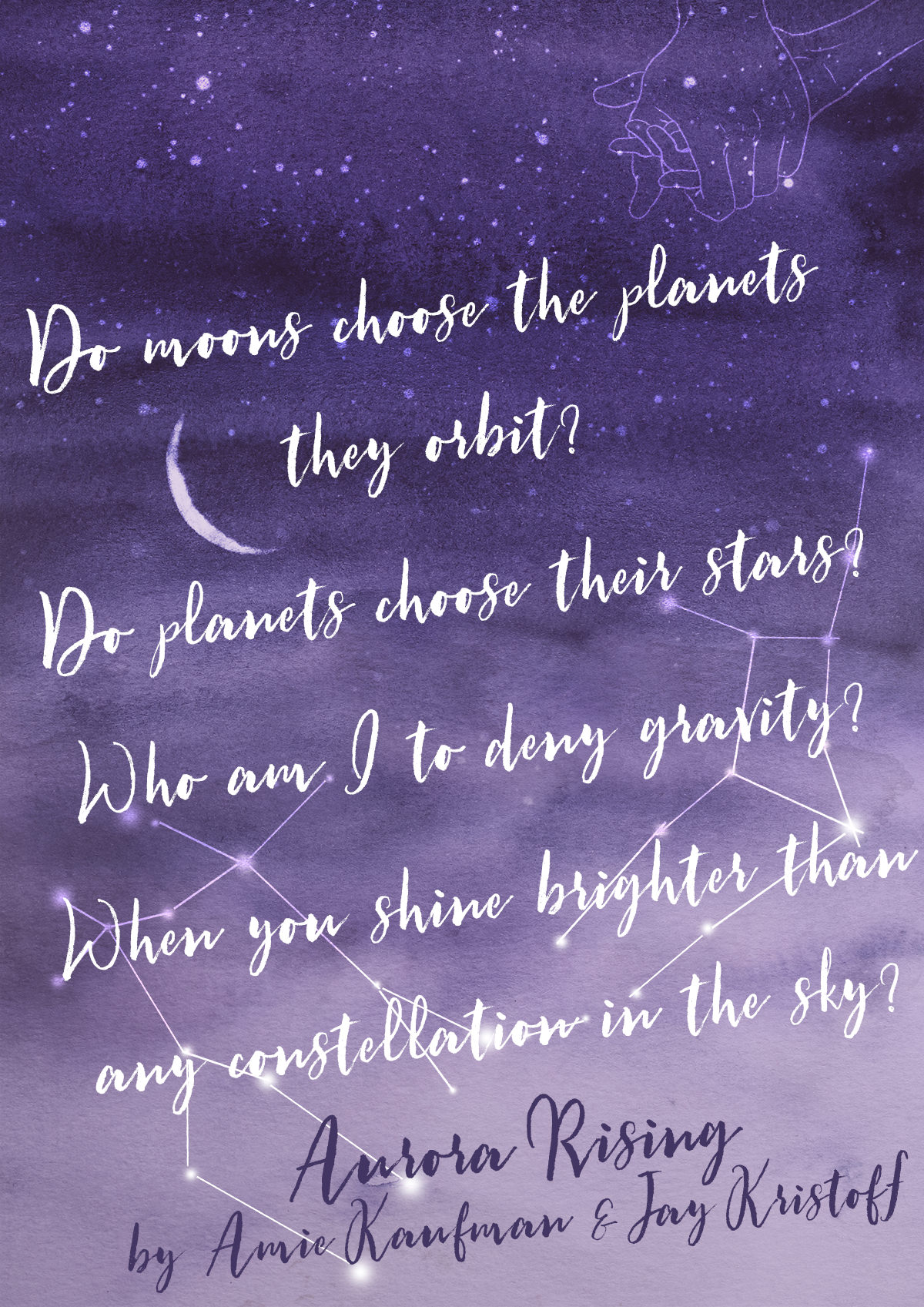 Deny Gravity - Aurora Rising by Amie Kaufman Jay Kristoff Quote